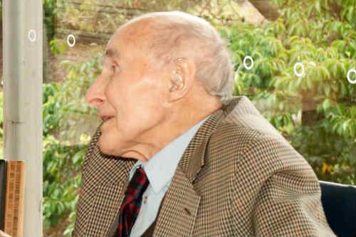 Renowned horticulturalist, Eddie Kemp - image: RBGE