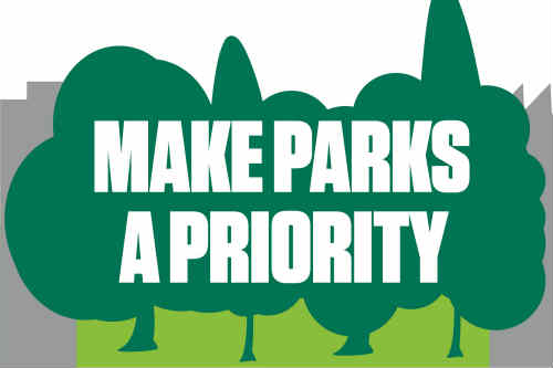 The Make Parks A Priority Campaign is urging MPs to sign EDM 219 - image:HW