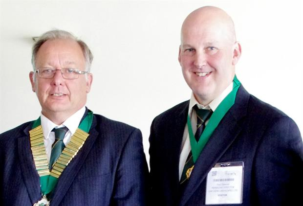 New BALI chair and vice chair: Robert Field (left) and Paul Downer