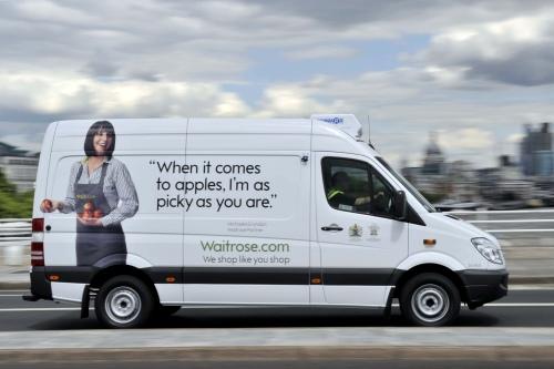 Waitrose: online delivery rising sharply  - image:Waitrose