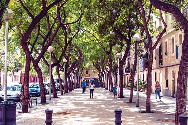 Avenguda Rosel in Barcelona - image: Ann Hallgren/ Creative Commons Licence