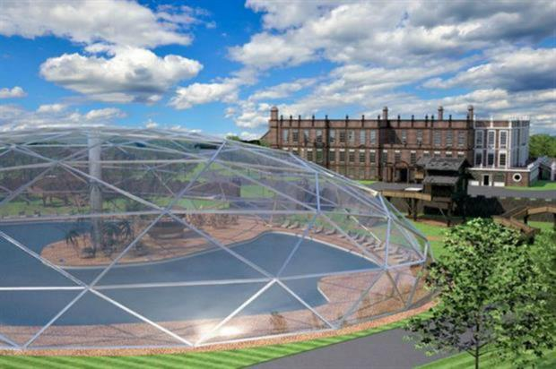 Plans to build a biodome in Croxteth Park have been canned. Image: Signature Living