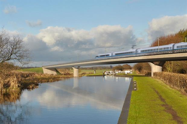 HS2: trees planned along route - image: HS2