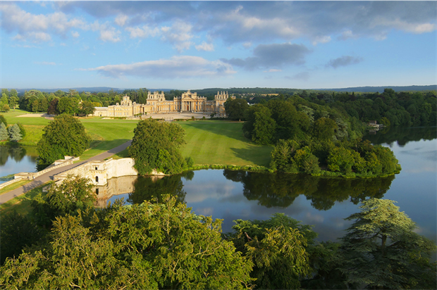 Weekend away? Stately homes and gardens could benefit. Image: Blenheim Palace