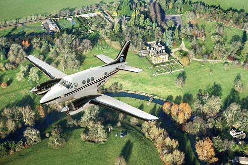 Aerial imaging aeroplane - image:Bluesky