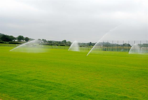 Toro irrigation in action
