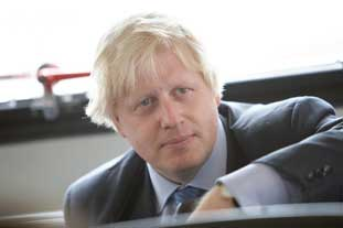 Boris Johnson believes a new strategy will combat climate change in London - photo: GLA