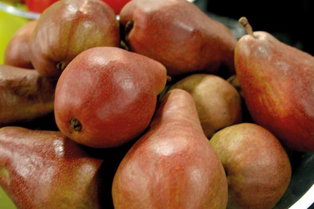 JR Breach: red-skinned pear was introduced at show - image: HW