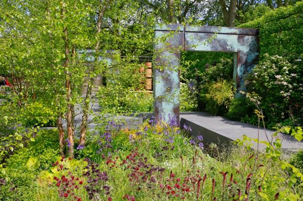 Bowles & Wyer built Matt Childs' Brewin Dolphin garden at last year's Chelsea show