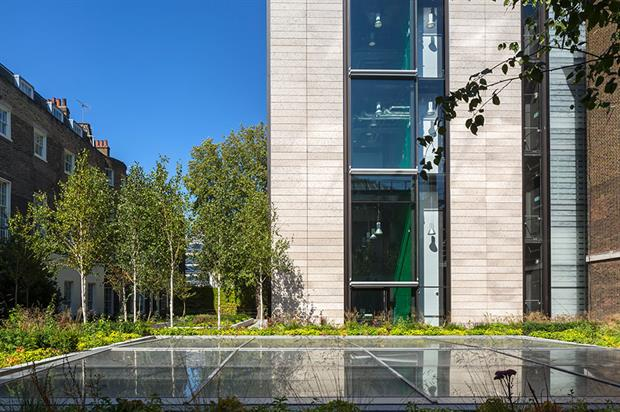 British Museum Courtyard designed by Gillespies LLP - image: Paul Raftery