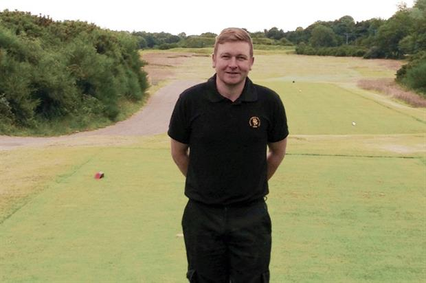 Richard Johnstone is keen to develop his managerial skills. Image: British Sugar Topsoil