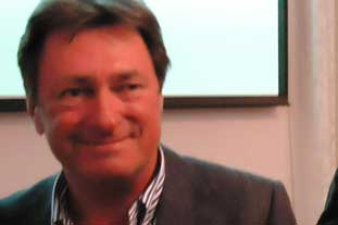 Alan Titchmarsh at the GCA conference - image: HW