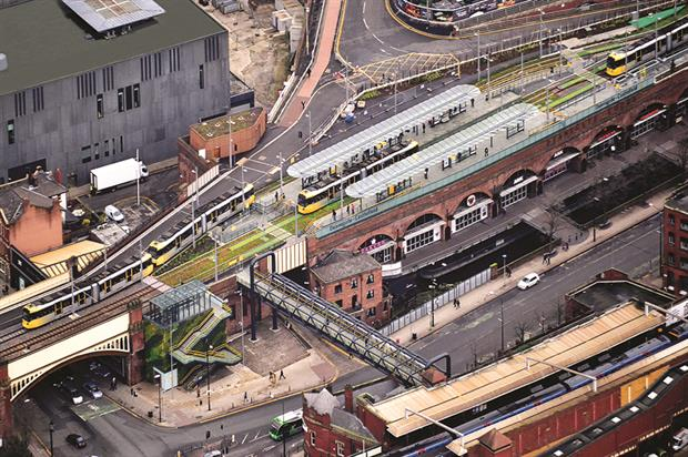 Deansgate, Manchester: Goldsmith challenge invigorated transport chiefs (Credit: Ian Simpson Architects)