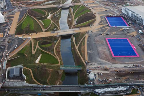 English Landscapes will tackle all aspects of estate and facilities management for the Olympic park during the 10-year contract - image: ODA