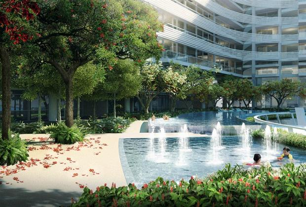 Luxury living in Singapore. Picture Capitol Holdings