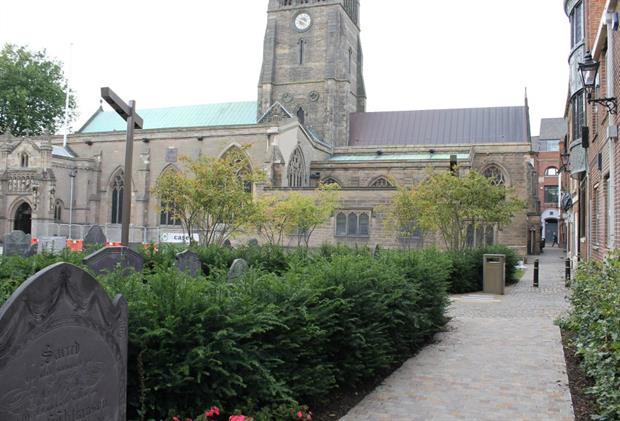 The Cathedral Gardens project designed by Gillespies and LDA Architects