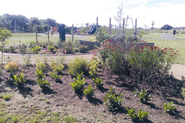 Centenary Park: new facility created from redundant allotment site in deprived area in Newbold-on-Avon, Rugby