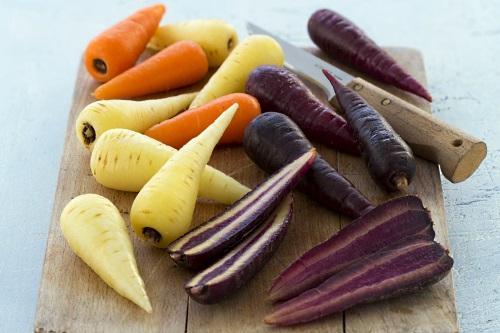 The three-colour Chantenay carrot range - image:Freshgro