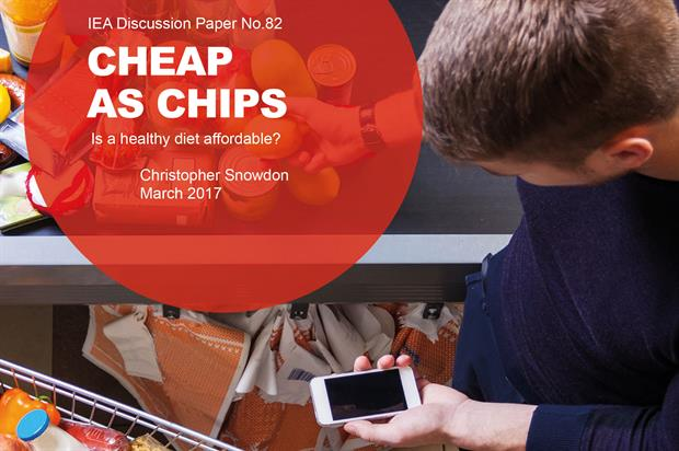 Cheap as Chips: finds five-a-day available for under £1 - image: IEA