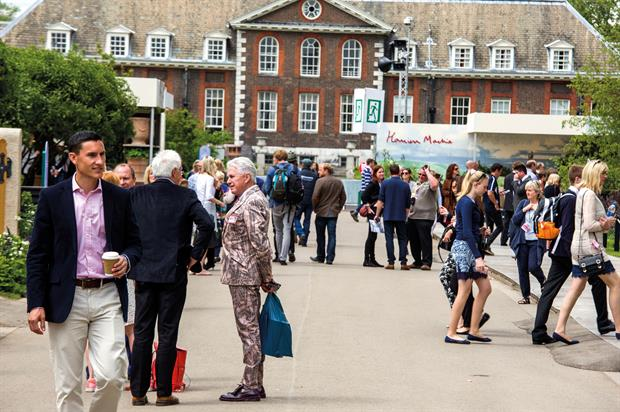RHS Chelsea Flower Show: concern over sponsorship but more applications received for 2017 than spaces to fill - image: HW