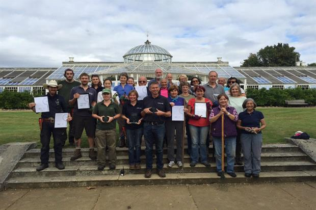 The Chiswick House team with their awards. Image: Gavin Jones