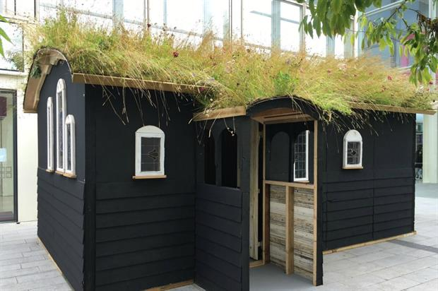 The 'Green Chapel' won People's Choice in the Green Roof Beauty Contest