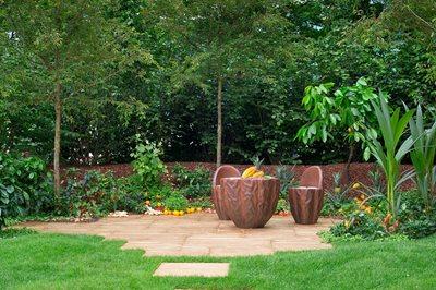The Cocoa Garden, designed by Tony Smith