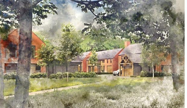 Artist impression of the finished development. Image: Evoke
