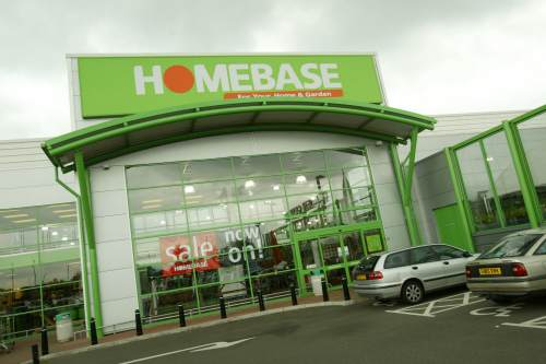 Homebase like-for-like sales were down for last 18 weeks of 2011 - image: Homebase
