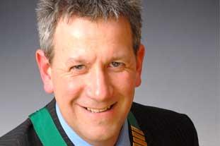 d Gardiner, chairman, BALI - photo: BALI
