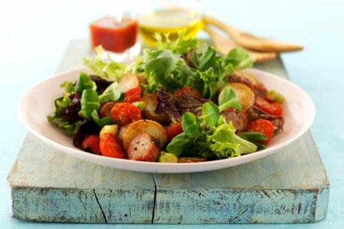 Lincolnshire sausage and potato salad - image:BLSA