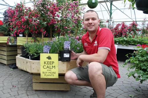 Employee of the Year - Darren Sanders, Garden King - image: Garden King