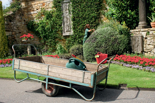 Maintenance: gardening roles at historic visitor attractions across the country can range from general estate upkeep to planting and recording collections - image; HW