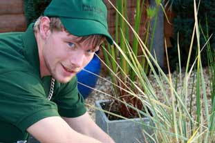 Ashley Green, managing director, Green Gardens Landscaping - photo: Green Gardens Landscaping