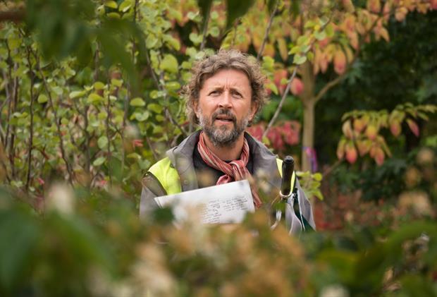 Garden Bridge planting designer Dan Pearson on a visit to Deepdale in July