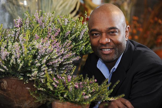 David Lindo at W6 Garden Centre