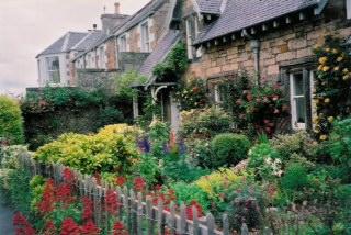 Dirleton Village in East Lothian