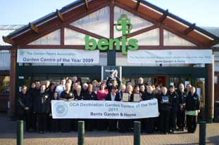 Bents wins GCA Destination Garden Centre Award for 4th time - image: Bents