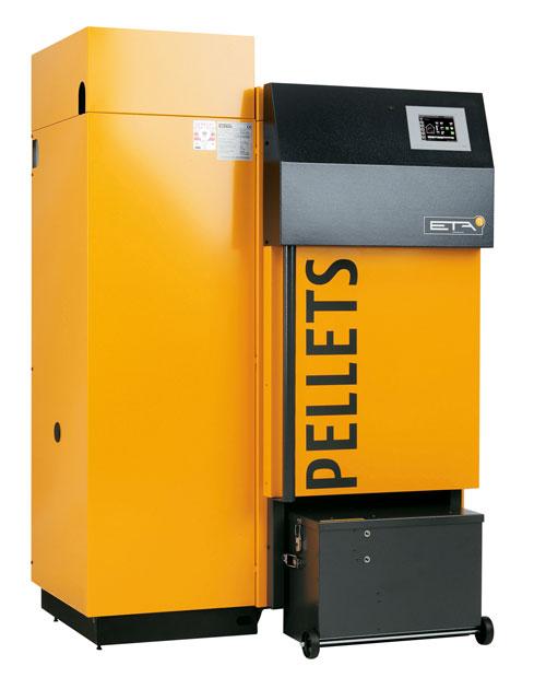 ETA biomass boiler