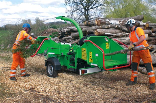 EcoCombi: chipper/shredder reduces particle size for more effective heat treatment - image: Greenmech