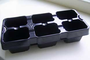 Recyclable plant trays preferred by Wyevale - photo: HW