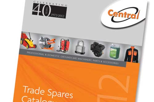 The Central Spares catalogue: new edition for 2012 - image: Central Spares