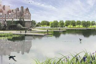 LDA Design's plans for Burgess Park Pic: LDA Design