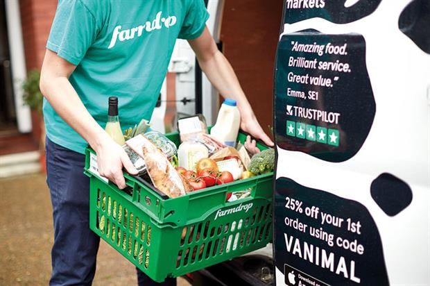 Farmdrop: deploying innovative technology to simplify food chain and meet demand for sustainably sourced food - image: Farmdrop