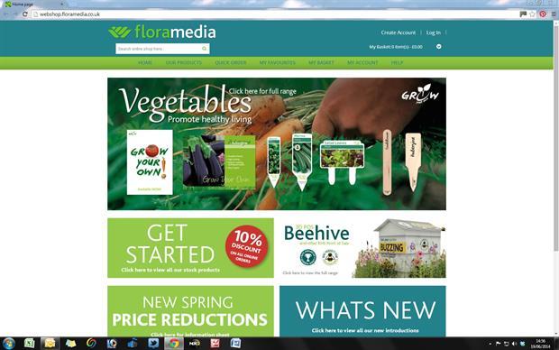 Floramedia web shop