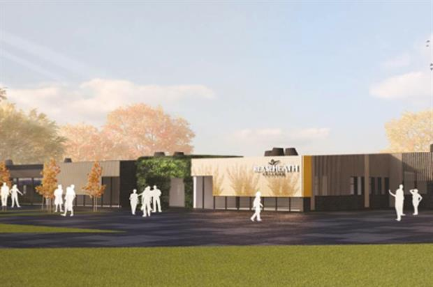 Food Futures building - image: Reaseheath College