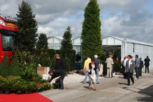 Four Oaks Trade Show: UK suppliers are getting more enquires from the Continent - photo: HW