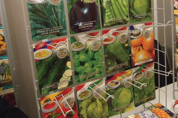 Franchi: World War One and Eden Project seed ranges