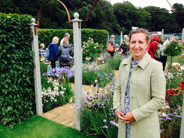 Young garden designer winner thanks bursary scheme for