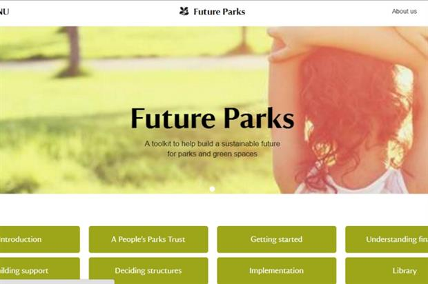 The Future Parks website is now live